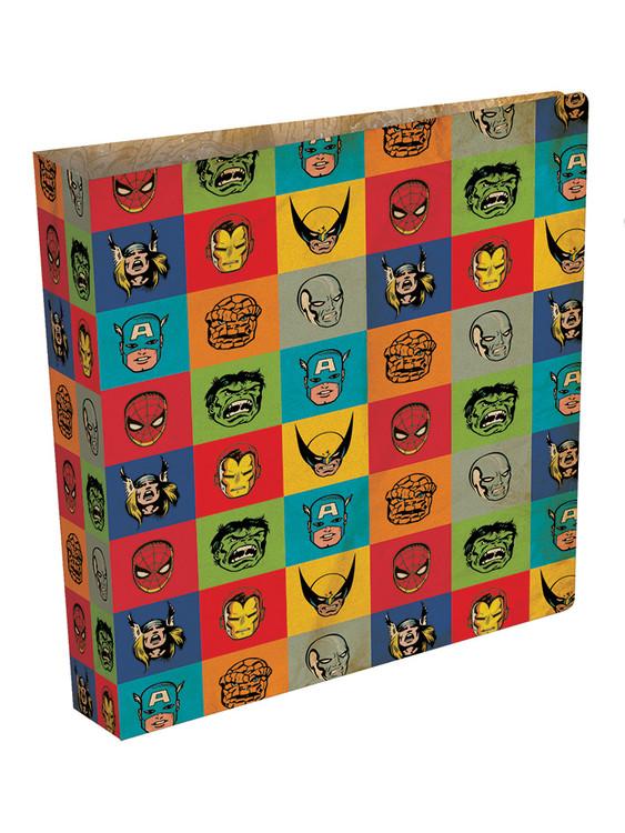 Marvel Retro - Faces ring binder Skolesager