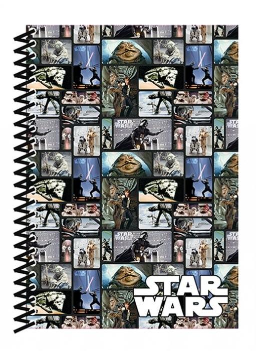 Star Wars - Blocks A5 Soft Cover Notebook Skolesager