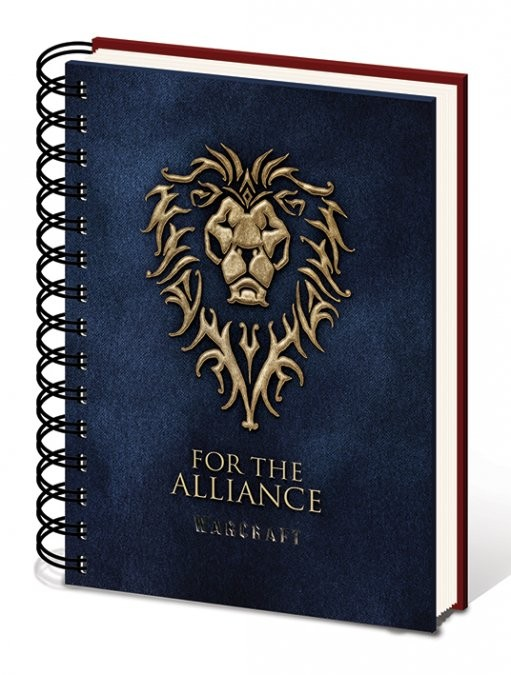 Warcraft: The Beginning - Choose a side A5 notebook Skolesager