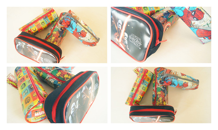 Marvel Retro - Faces pencil case Skrivesaker