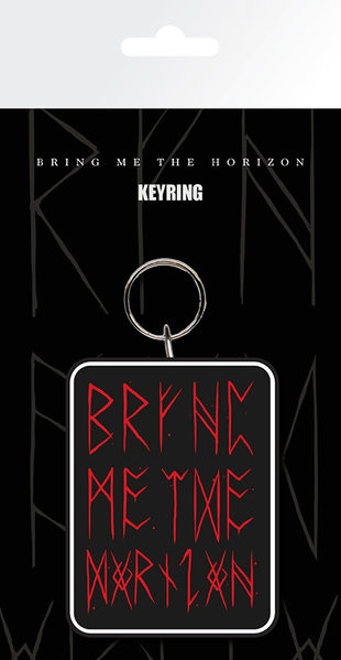 Bring me the horizon - Logo red Sleutelhangers