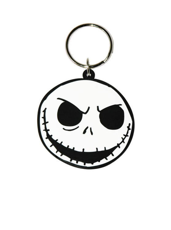 THE NIGHTMARE BEFORE CHRISTMAS - Jack Face Sleutelhangers