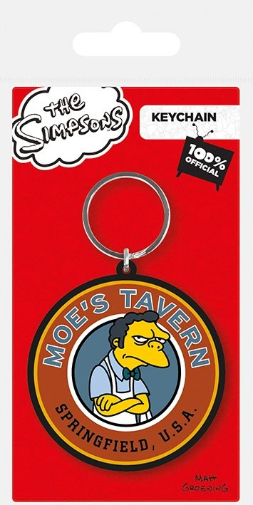 The Simpsons - Moe's Tavern Sleutelhangers
