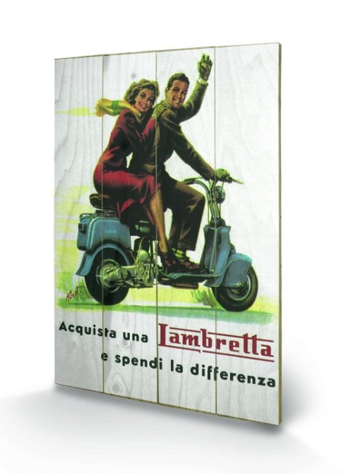 Lambretta - Differenza Slika na les