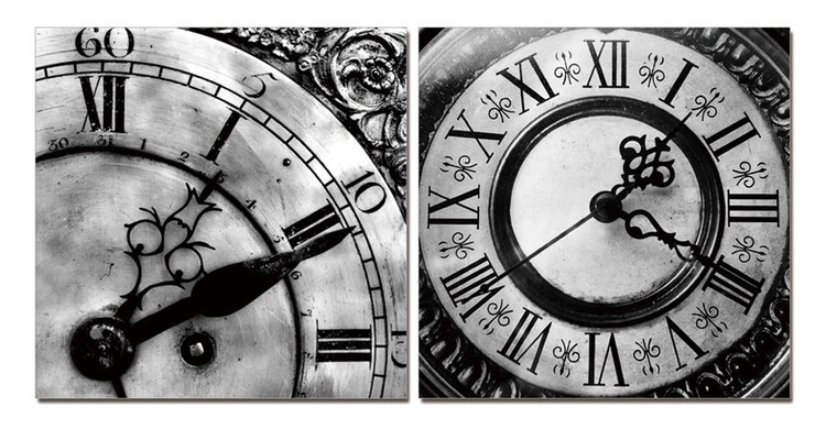 Designer clocks (B&W) Slika
