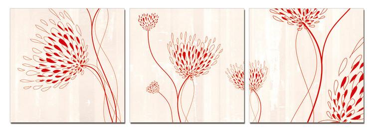 Modern design - flowers Slika