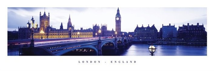 London - england Smale plakat