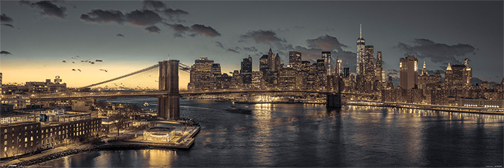 New York Smale plakat