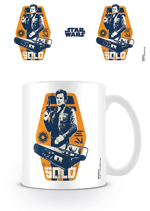 Hrnek Solo A Star Wars Story - Han Icon