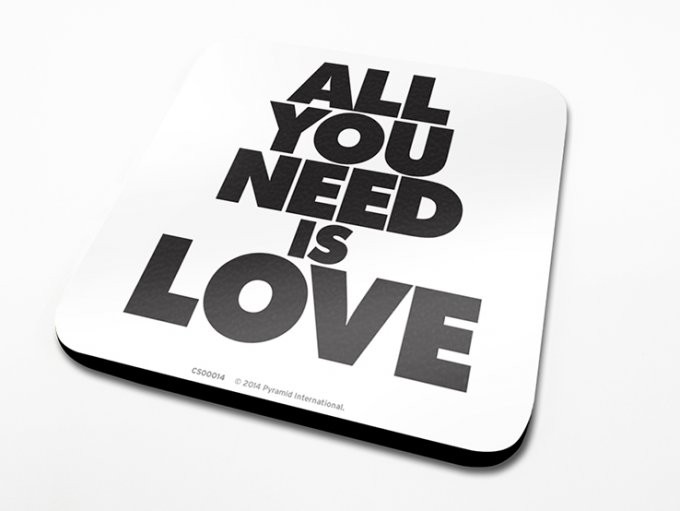 All You Need Is Love Sottobicchieri