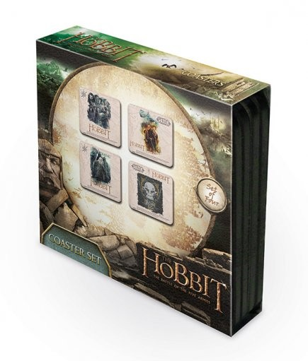 Lo Hobbit 3: La battaglia delle cinque armate Sottobicchieri