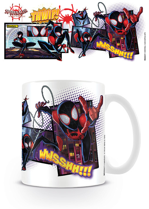 Hrnek Spider-Man: Paralelní světy - Comic