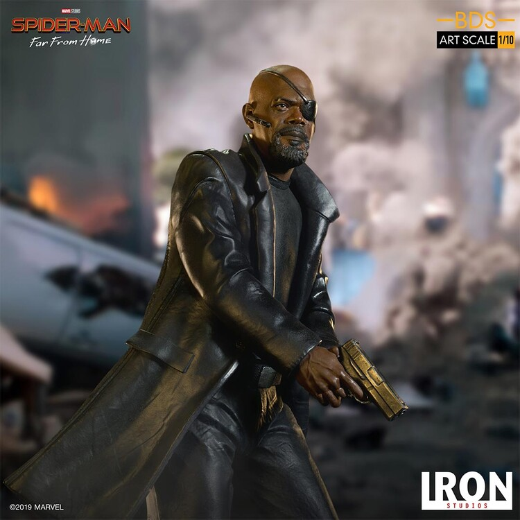 Figurină Spiderman: Far From Home - Nick Fury