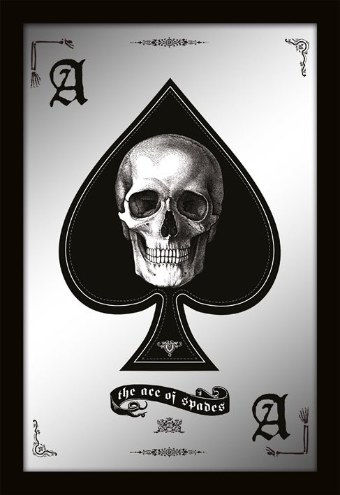 MIRRORS - ace of spades Spiegel