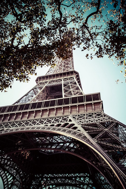 Paris - Eiffel Tower Staklena slika