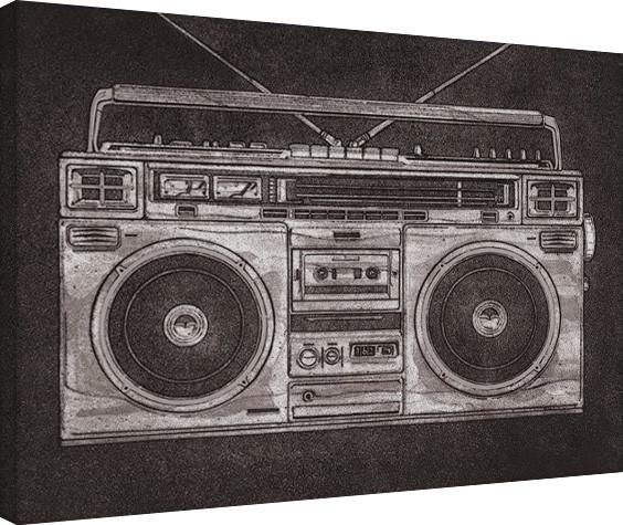 Stampa su Tela Barry Goodman - Ghetto Blaster