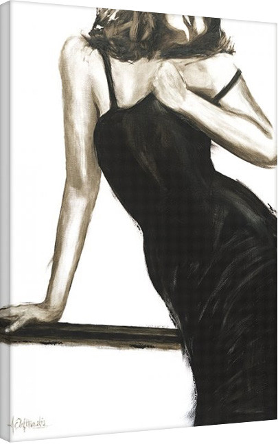Stampa su Tela Janel Eleftherakis - Little Black Dress III