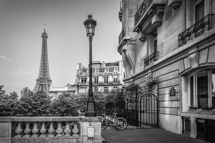 Stampa su Tela Parisian Charm
