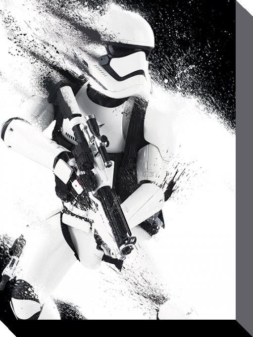 Stampa su Tela Star Wars, Episodio VII : Il risveglio della Forza - TIE Fighter Icon
