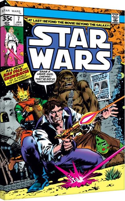 Stampa su Tela Star Wars - Surrounded
