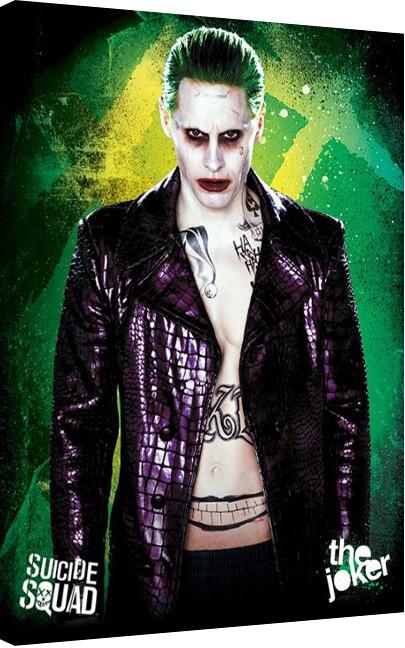 Stampa su Tela Suicide Squad - The Joker
