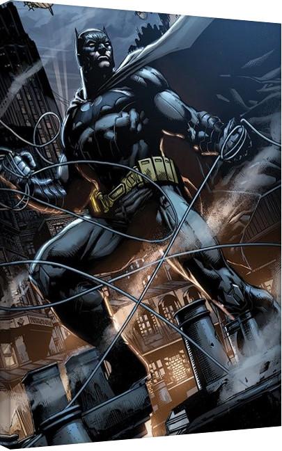 Stampa su Tela  Batman - Rooftop