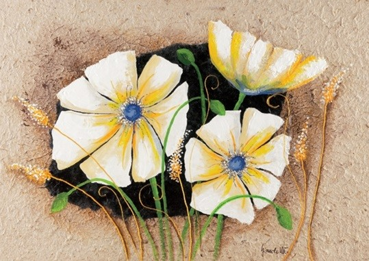 Stampe d'arte Anemone in frame