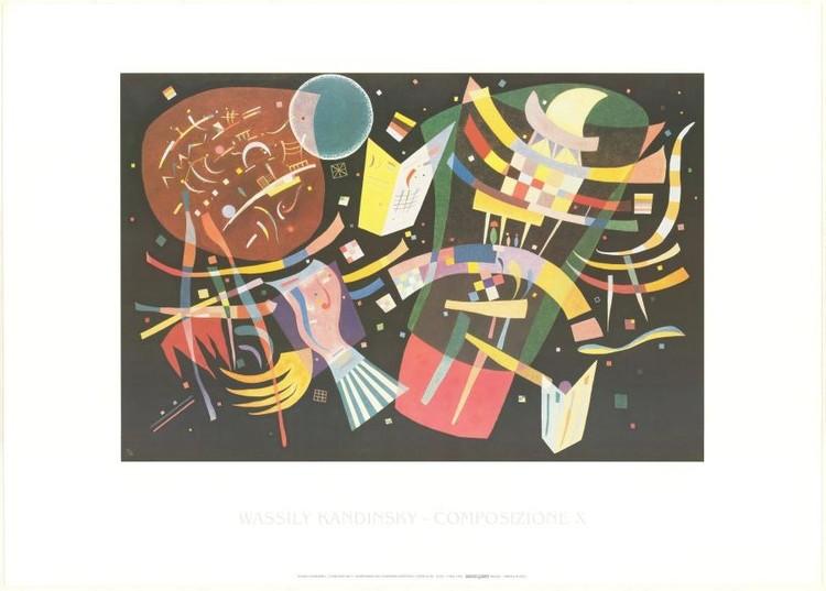 Composition X - Stampe d'arte