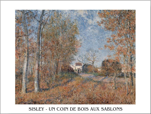 Stampe d'arte Edge of the Forest in Sablons