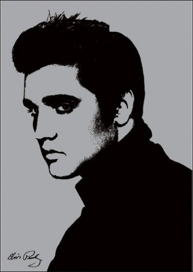 Elvis Presley - Metallic - Stampe d'arte