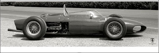 Ferrari F1 Vintage - Sharknose - Stampe d'arte