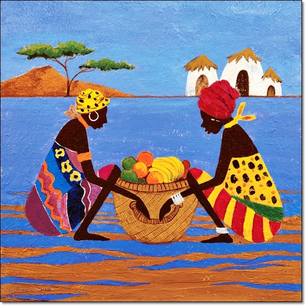 Fruit Basket - Stampe d'arte