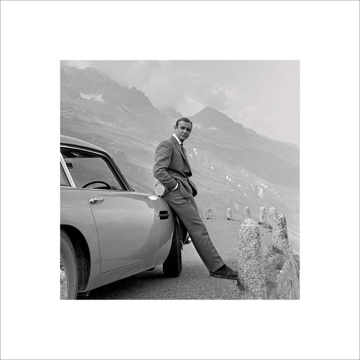 Stampe d'arte James Bond 007 - Aston Martin