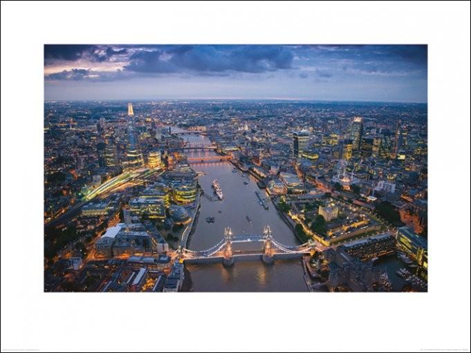 Londra - Jason Hawkes - Stampe d'arte