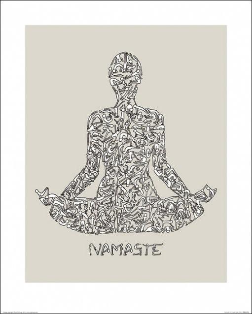 Stampe d'arte Louise Tate - Namaste