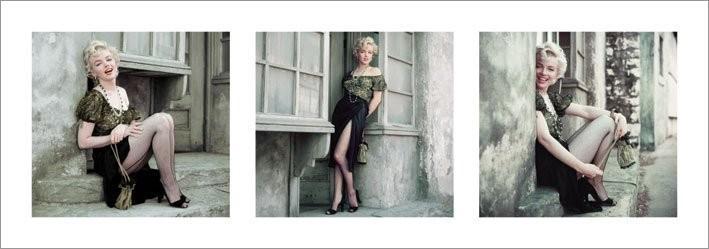 Marilyn Monroe - The Parisian Series Stampe