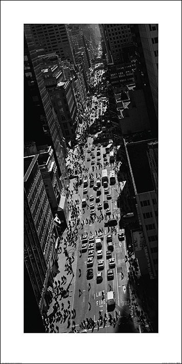 Stampe d'arte Pete Seaward - New York street