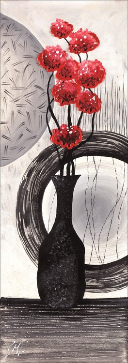 Red art 1 - Stampe d'arte