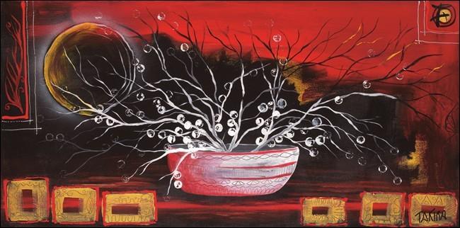 Stampe d'arte Rosso oriente