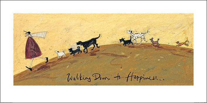 Stampe d'arte Sam Toft - Walking Down To Happiness