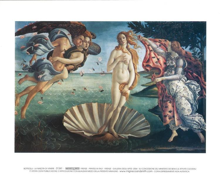 The Birth of Venus - Stampe d'arte
