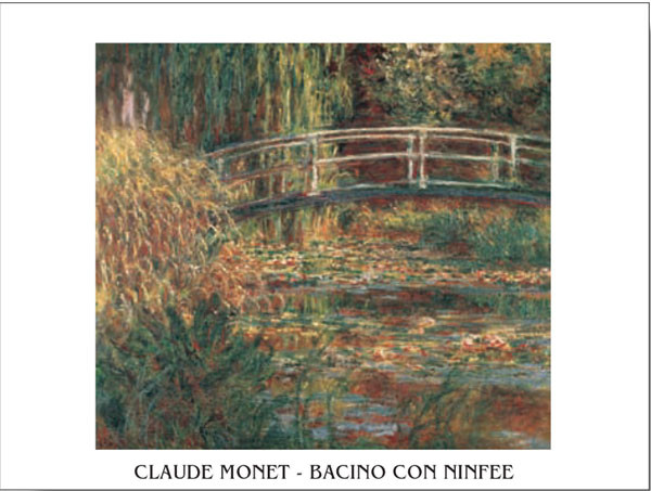 The Water-Lily Pond - Stampe d'arte