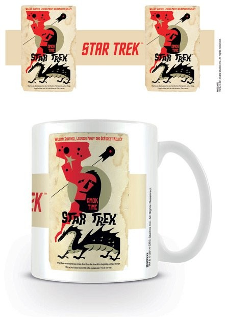 Hrnek Star Trek - Amok Time - Ortiz