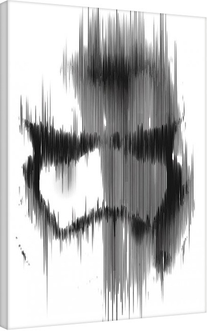 Bilden på canvas Star Wars Episod VII: The Force Awakens - Stormtrooper Paint