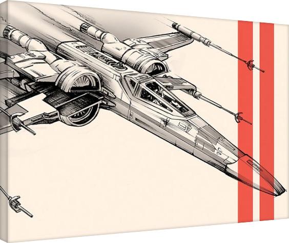 Leinwand Poster Star Wars: Episode VII - Das Erwachen der Macht - Captain Phasma Tri