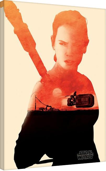 Leinwand Poster Star Wars: Episode VII - Das Erwachen der Macht - Speeder Icon