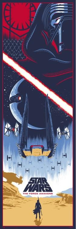 Αφίσα πόρτας  Star Wars: Episode VII - The Force Awakens