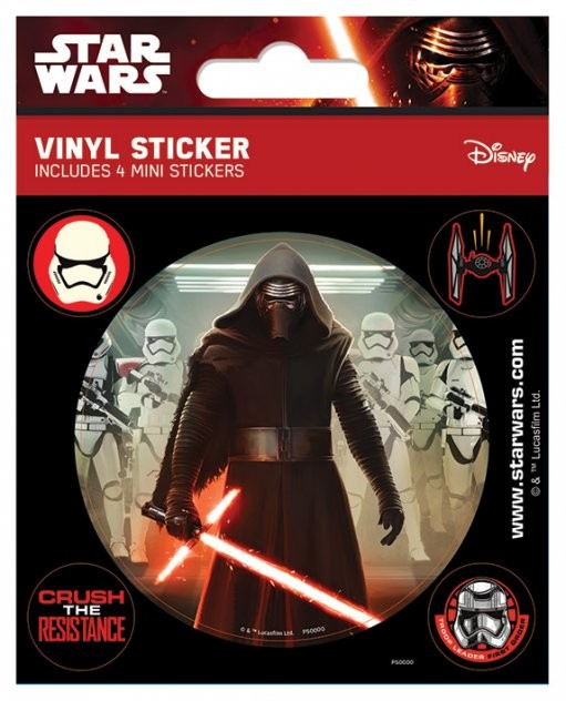 Star Wars Episode VII: The Force Awakens - Kylo Ren Autocolant