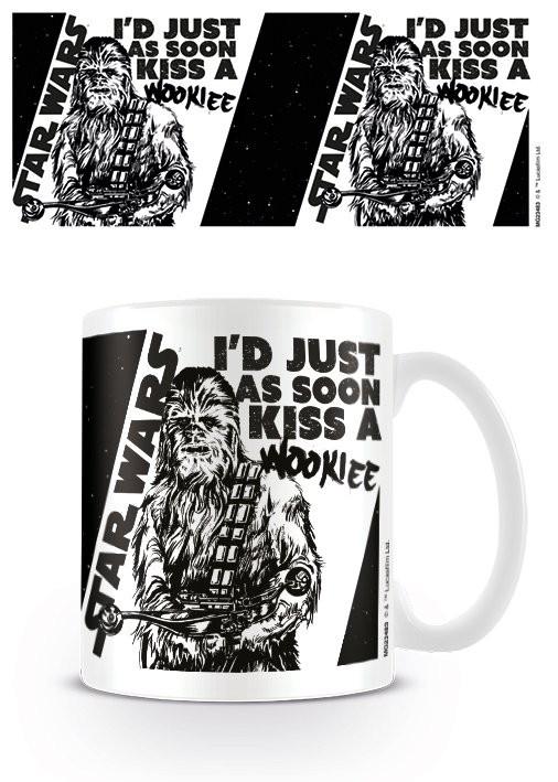 Taza Star Wars - Kiss a Wookie