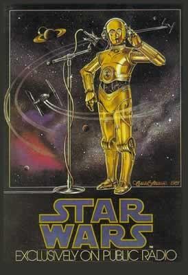 Αφίσα  STAR WARS - radio drama